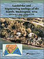 Book: Landslides and Engineering Geology of the Seattle, Washington, Area