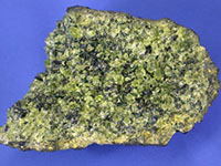 Peridotite, possible means of carbon sequestration