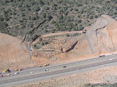 SR 87 landslide in Arizona