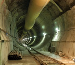 Water infrastructure tunnel - Copyright Black and Veatch