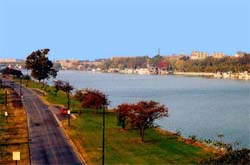 Anacostia River in Washington D.C.