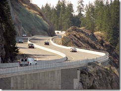 West Vancouver's Eagleridge Interchange on the Sea-To-Sky Highway