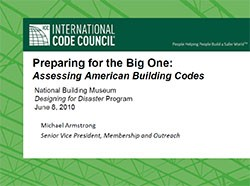 Preparing for the Big One: Assessing American Building Codes