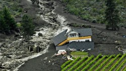 June 2010 Oliver, B.C. mudslide and debris flow