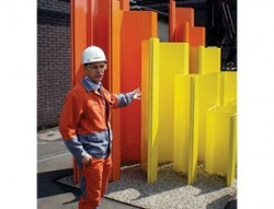 Z-Section sheet piles from ArcellorMittal used in Venice, Italy