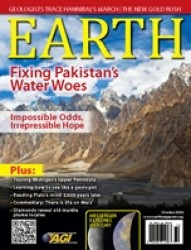 Earth Magazine October 2010 Cover