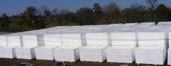 Geofoam EPS blocks at the campus of Versa-Tech for the Tucker Tunnel project in St. Louis