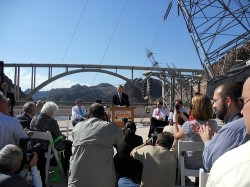 Hoover Dam Bypass Bridge Dedication Ceremony