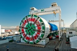 Record breaking EPB TBM For Italy's Sparvo Tunnel