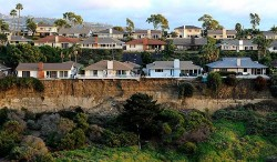 San Clemente homes affected by landslide