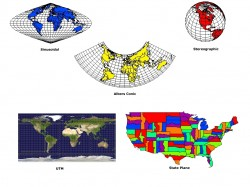 Rockware's Surfer 10 works with multiple map projections