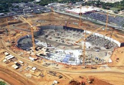 Excavation for Cowboy's Stadium