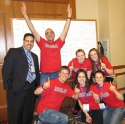 Winning team for 2011 Geo-Challenge from Rensselaer