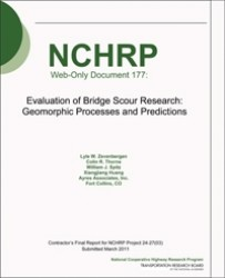 Evaluation of Bridge Scour Research: Geomorphic Processes and Predictions