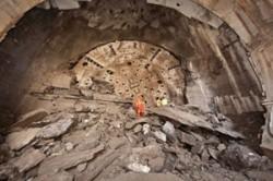 47-ft diameter TBM breaks through on Niagara Tunnel