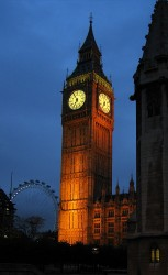 Big Ben, the next leaning tower of Pisa?