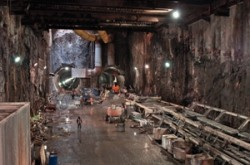 Second Avenue Subway tunneling project
