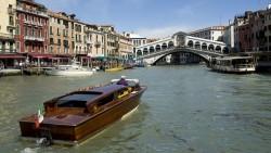 The Rialto Bridge over Venice's Grand Canal