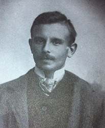 Karl Terzaghi at age 23 (1907) - Credit ASCE Press
