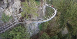Cliffwalk at Capilano Suspension Bridge Park