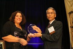 DFI 2012 Outstanding Project Award presented to Robert Yin of NY NJ Port Authority for the Route 9A Pedestrian Tunnel at the World Trade Center
