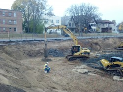 GeoPier GP3™ system being installed in Minneapolis, MN