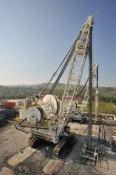 Trevi Tiger hydromill capable of constructing slurry walls to a depth of 250 meters