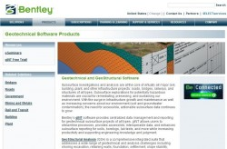 Bentley Geotechnical Website