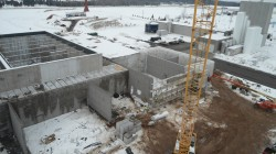 GreenWhey plant under construction in Turtle Lake, Wisconsin