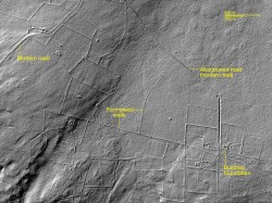 LIDAR imagery from New England archaeological sites