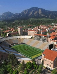 University of Colorado at Boulder Folsom Field