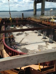Cofferdam for the Tapan Zee Bridge