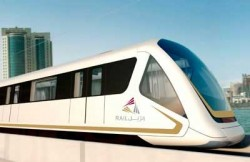 Proposed Doha Qatar subway