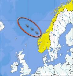 Location of Storegga Landslide