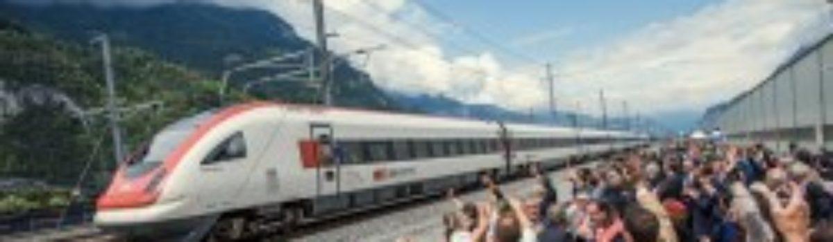 Gotthard tunnel, world's longest, opens in Switzerland