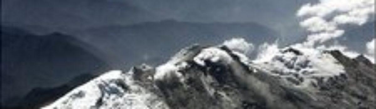 Volcano Erupts in Colombia