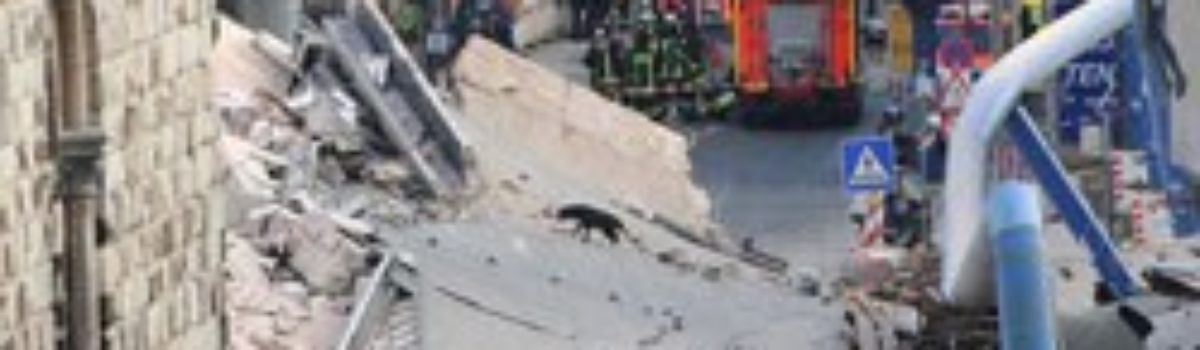 Subway Tunnel Collapse in Cologne Germany