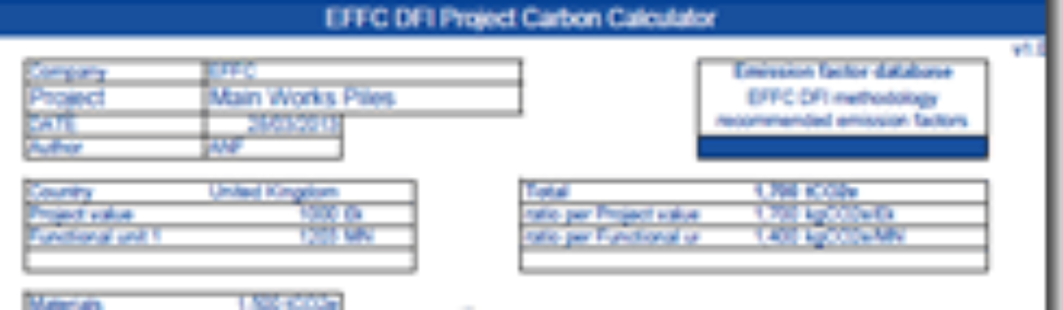 International Collaboration Delivers Pioneering Geotechnical Carbon Calculator