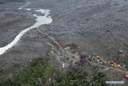 Deadly landslide buries Xinmo village in Sichuan Province, China