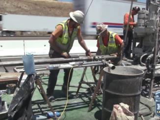 HSR Drilling by Kleinfelder on the San Jose to Merced segment