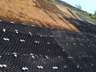 Geosynthetic erosion control mat