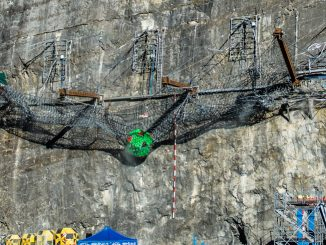 World Record Rockfall Barrier Test by Geobruug at 10,000 KJ
