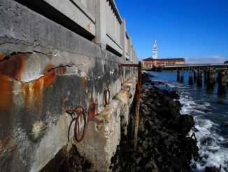 Embarcadero seawall is in need of repair and hardening against sea level rise