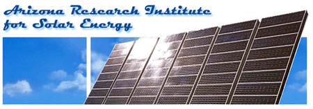 Arizona Research Institute for Solar Energy