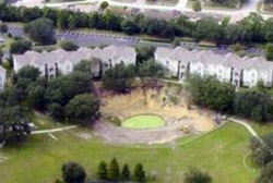 Pine Hills Sinkhole, Pine Hills, Florida, 2002