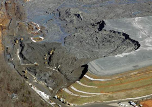 TVA coal ash dyke failure