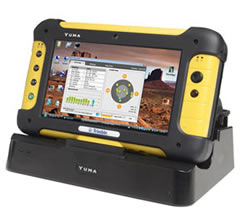 Rugged Tablet PC, the Trimble Yuma