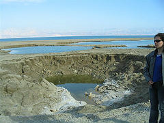Dead Sea Sinkholes, photo by urban_hipster via Flickr