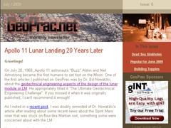 GeoPrac.net Monthly Newsletter