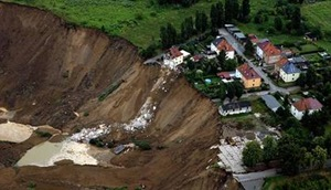 Nachterstedt Landslide in Eastern Germany
